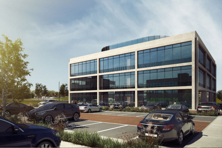 Offices Taking Shape at Thorpe Park, Leeds