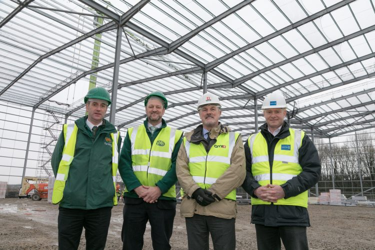 Burnley Bridge distribution hub hits milestone