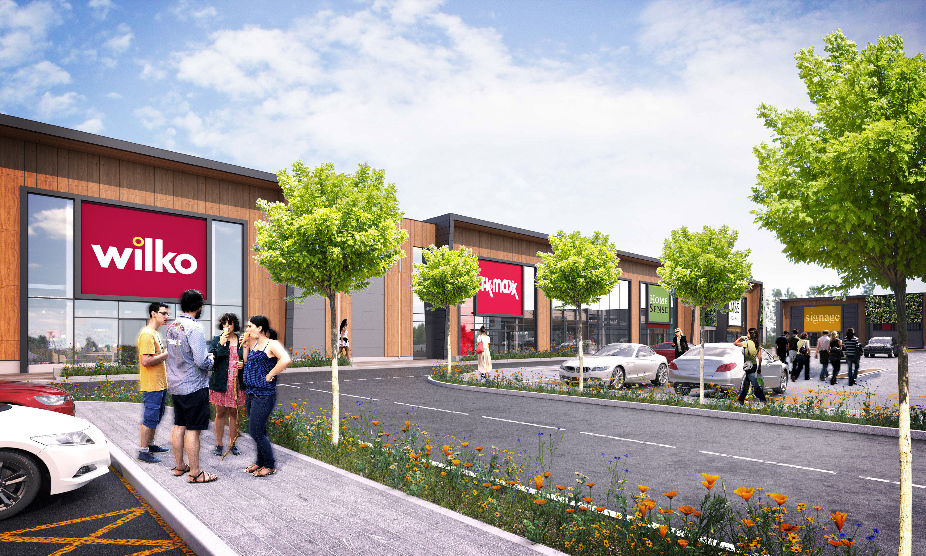 retailing and st james St james retail park newcastle-upon-tyne stamfordham road fully let retail  park with lidl, iceland and costa open and trading ne5 2sf units 3, 4 & 5.