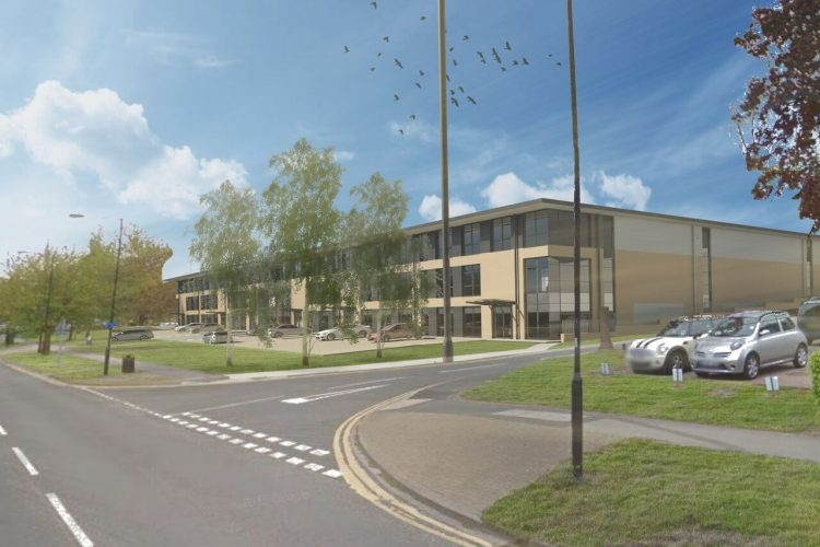 Construction work underway on 140,000 sq ft sustainable industrial scheme in Harrogate