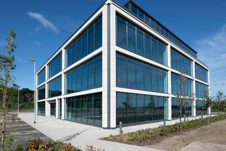 Office building completed at Thorpe Park Leeds