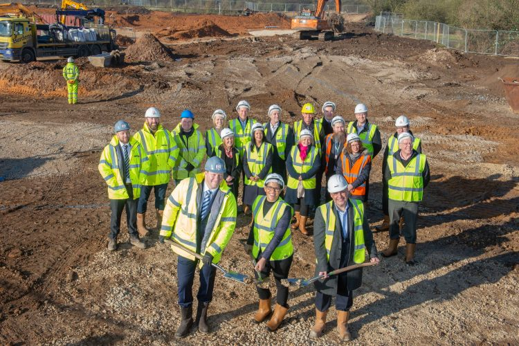 GMI bags first job at Nottinghamshire Harrier Park