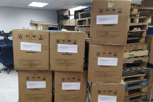 First of property group's PPE donation arrives in UK