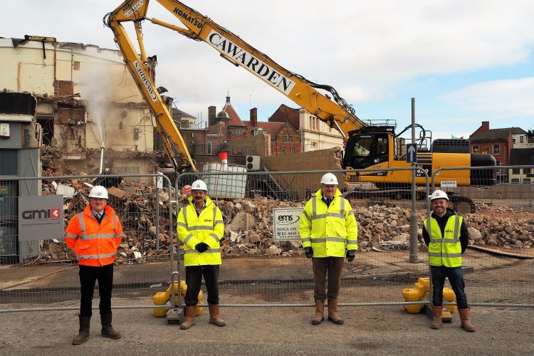 Demolition starts ahead of Phase One of Derby's £200 million Becketwell project
