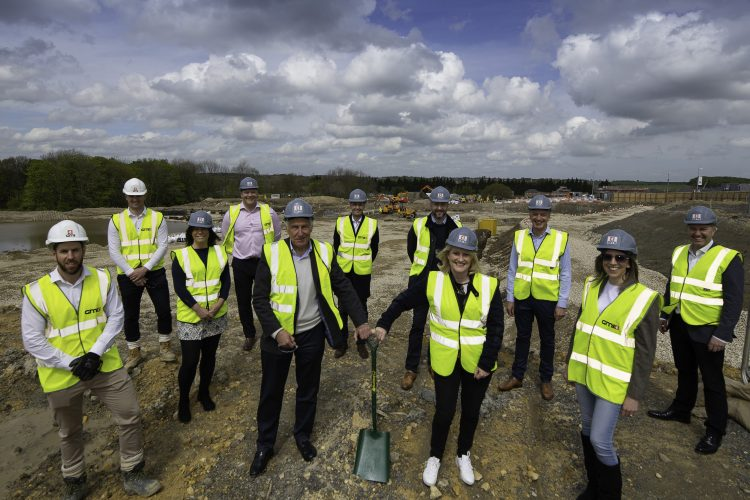 Work commences on £25m office build programme at Thorpe Park Leeds